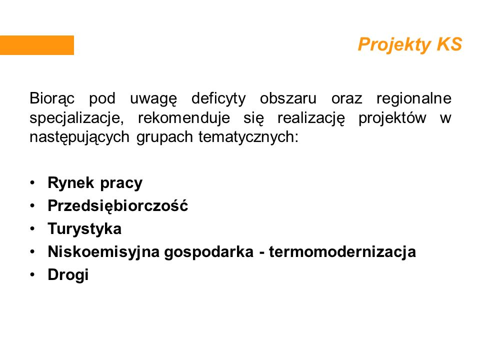 Projekty KS