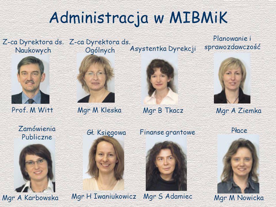 Administracja w MIBMiK