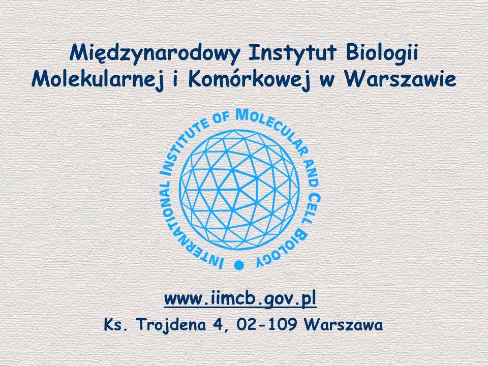 Międzynarodowy Instytut Biologii Molekularnej i Komórkowej w Warszawie