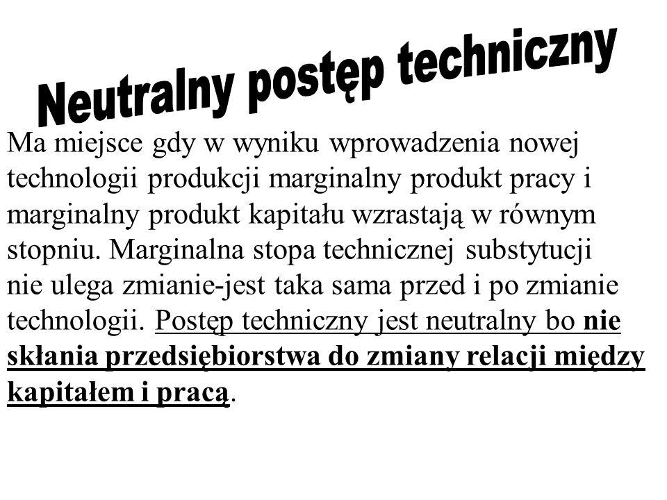 Neutralny postęp techniczny