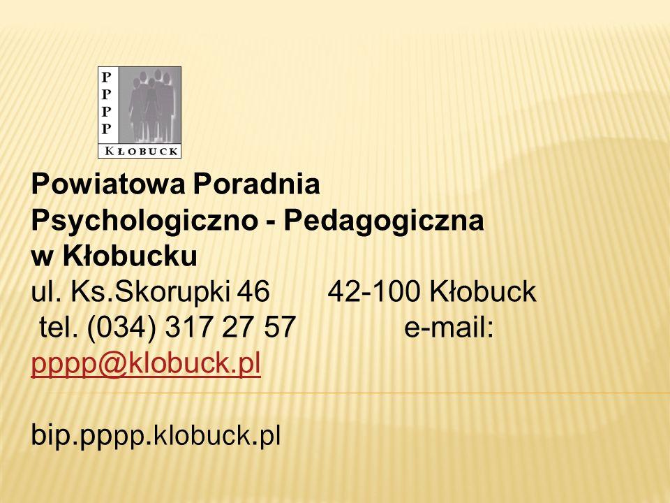 Powiatowa Poradnia Psychologiczno - Pedagogiczna w Kłobucku ul. Ks