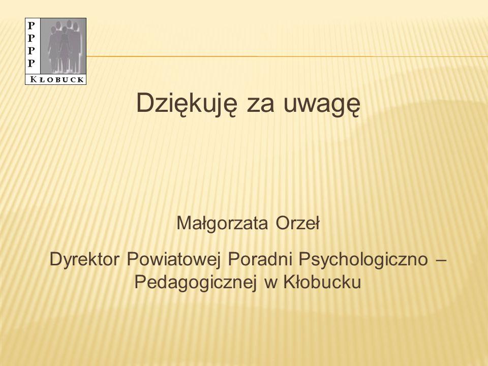 Dyrektor Powiatowej Poradni Psychologiczno – Pedagogicznej w Kłobucku