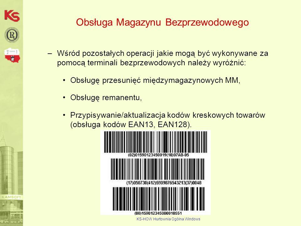 Obsługa Magazynu Bezprzewodowego