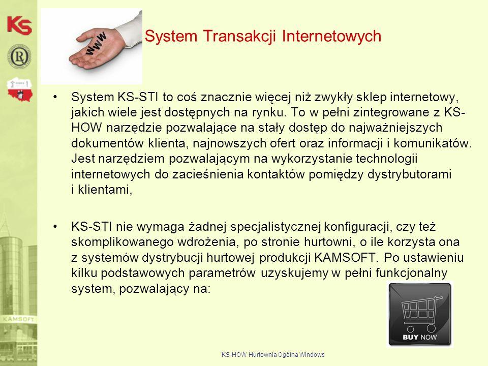 System Transakcji Internetowych