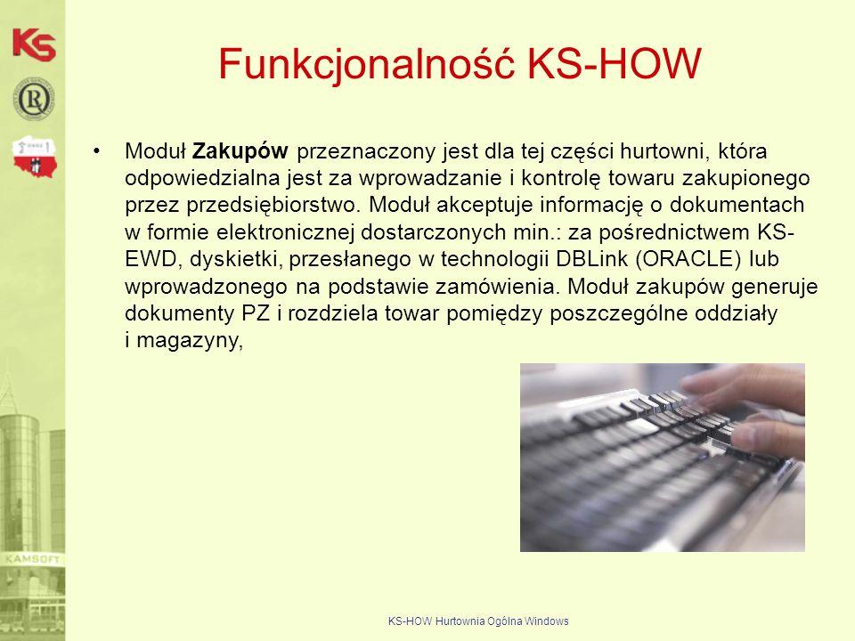 Funkcjonalność KS-HOW