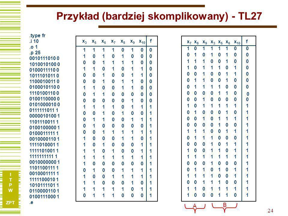 Przykład (bardziej skomplikowany) - TL27