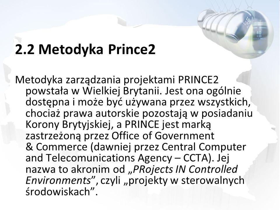 2.2 Metodyka Prince2