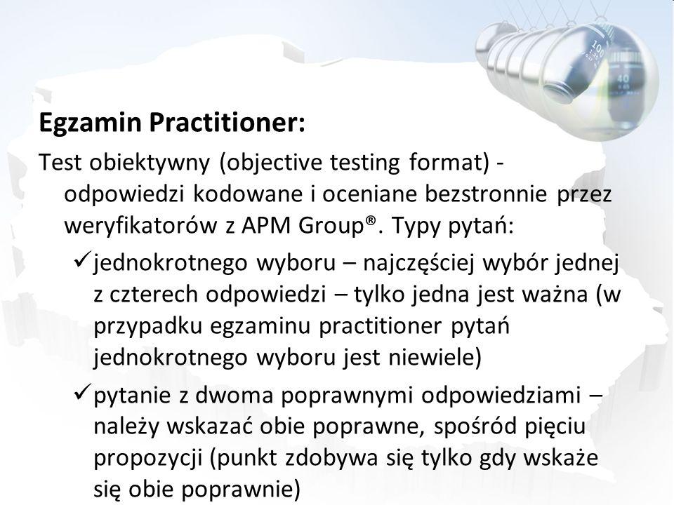Egzamin Practitioner: