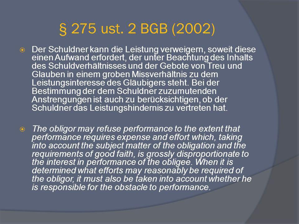 § 275 ust. 2 BGB (2002)