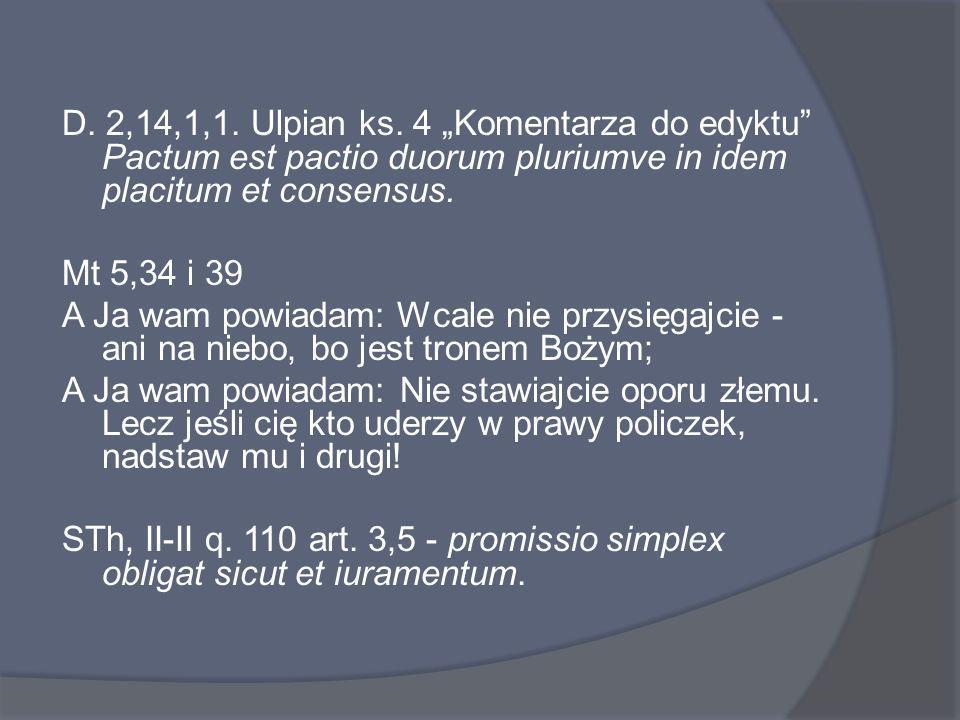 D. 2,14,1,1. Ulpian ks.