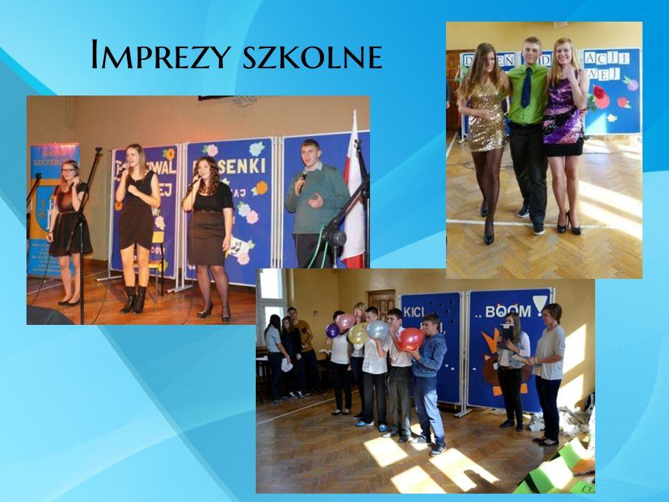 Imprezy szkolne Organizujemy również wiele ciekawych imprez szkolnych.