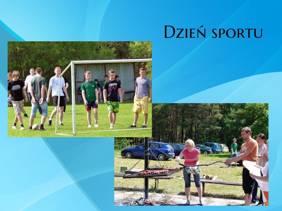 Dzień sportu Dbamy o integrację naszych uczniów i nauczycieli.