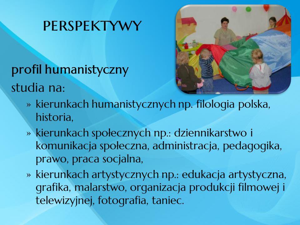 perspektywy profil humanistyczny studia na: