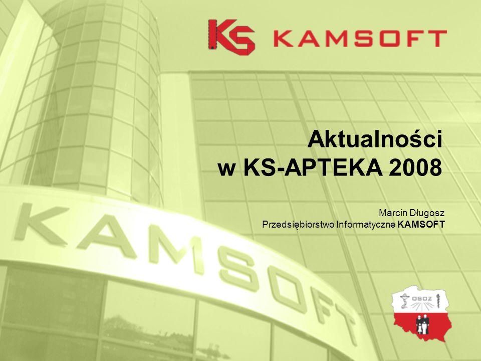 Aktualności w KS-APTEKA 2008