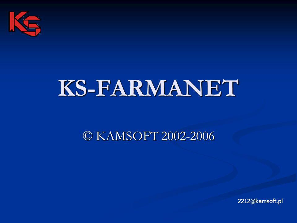 KS-FARMANET © KAMSOFT 2002-2006 2212@kamsoft.pl