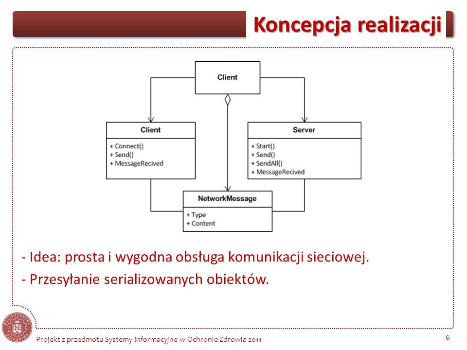 - Idea: prosta i wygodna obsługa komunikacji sieciowej