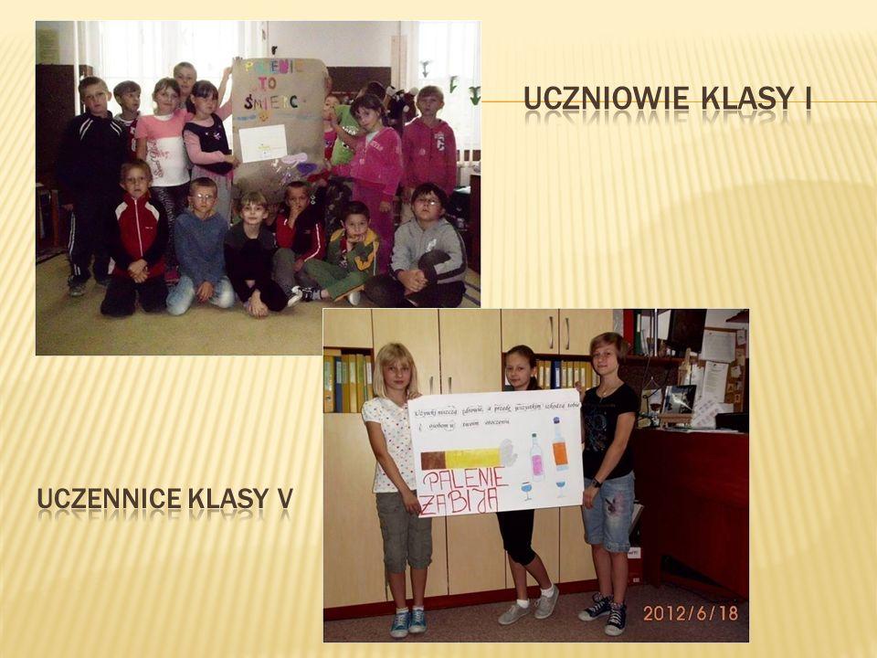 Uczniowie Klasy I Uczennice klasy V