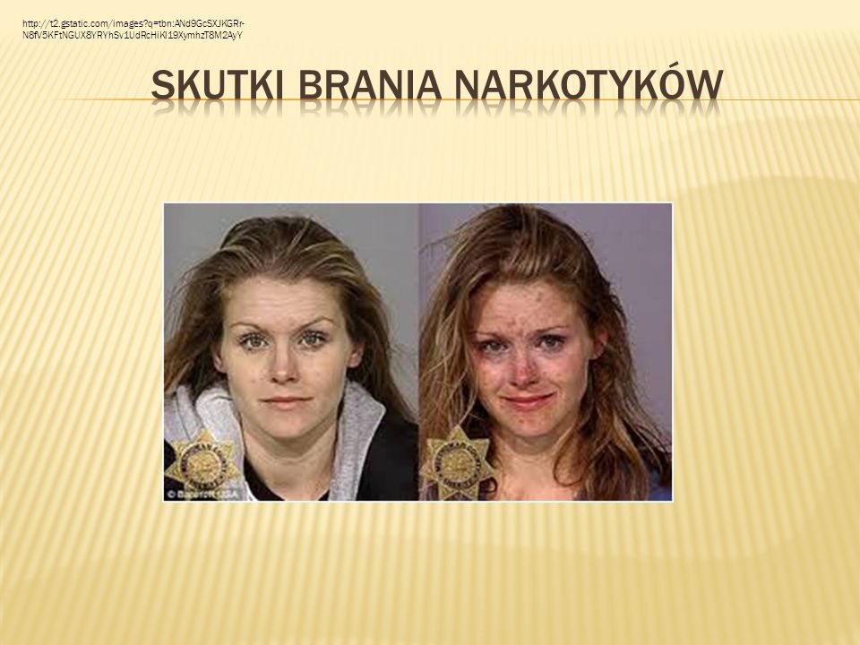 Skutki brania narkotyków