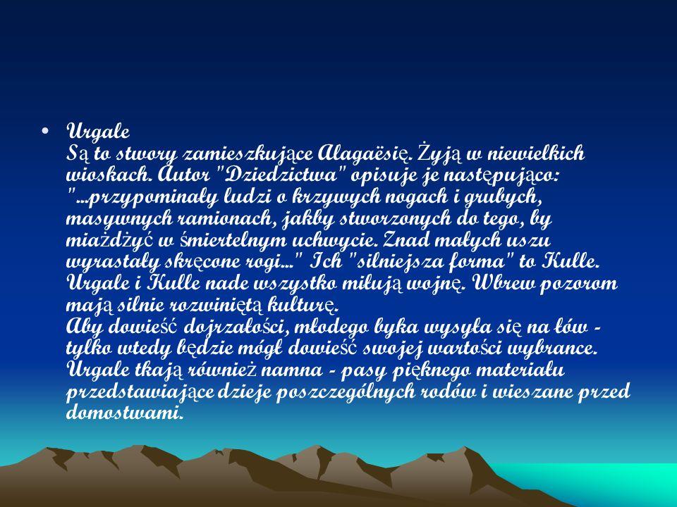 Urgale Są to stwory zamieszkujące Alagaësię