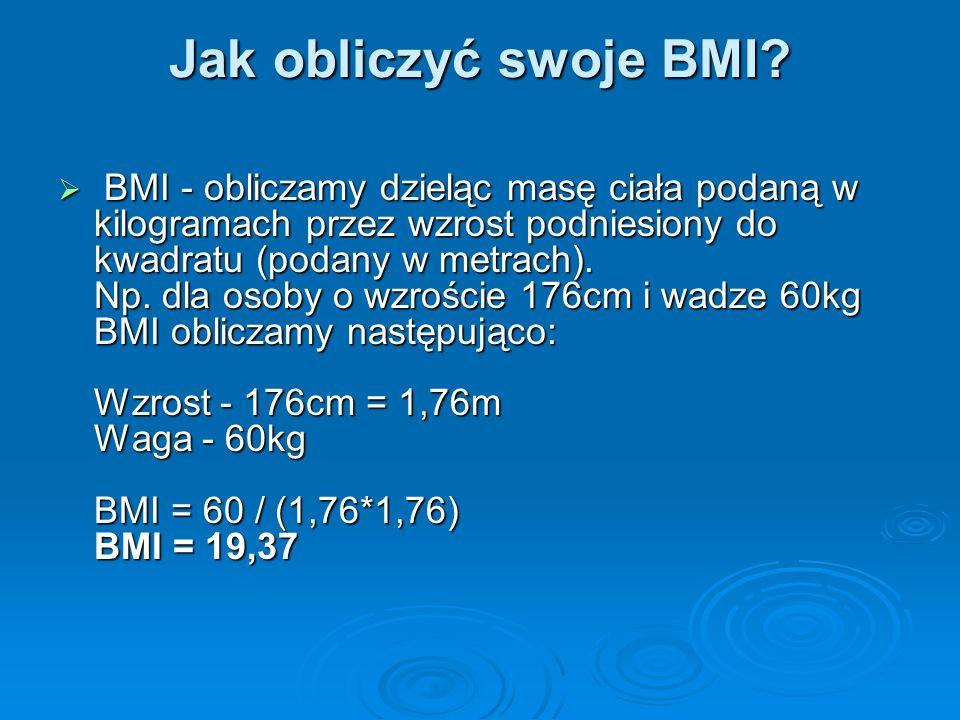 Jak obliczyć swoje BMI