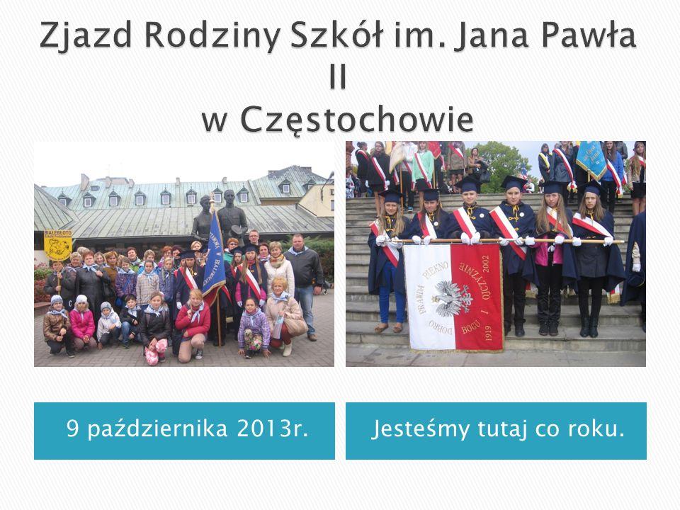 Zjazd Rodziny Szkół im. Jana Pawła II w Częstochowie