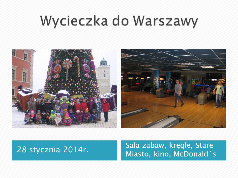 Wycieczka do Warszawy 28 stycznia 2014r.