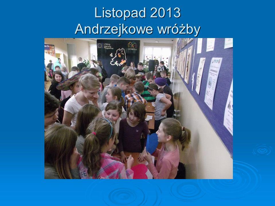 Listopad 2013 Andrzejkowe wróżby