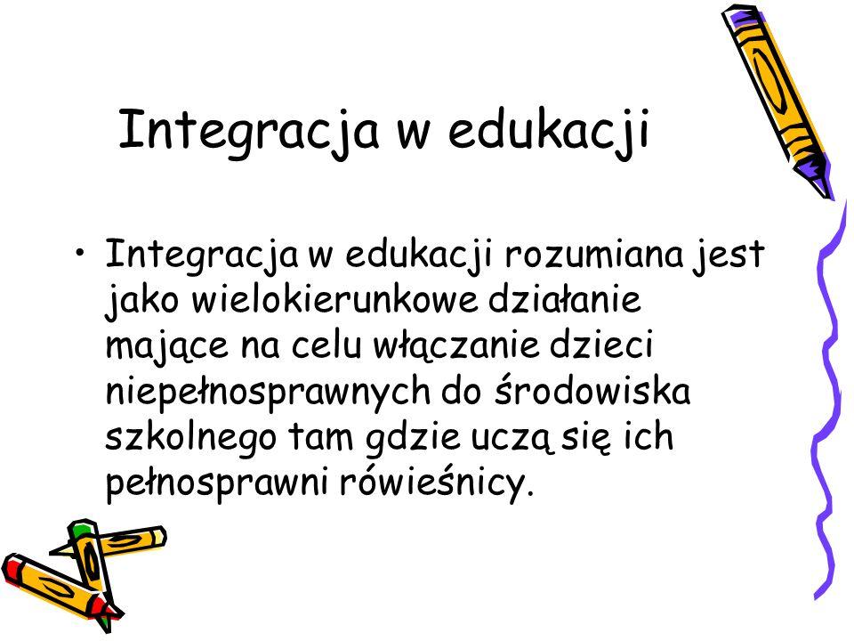 Integracja w edukacji