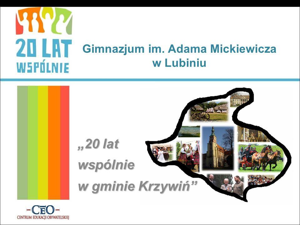 Gimnazjum im. Adama Mickiewicza w Lubiniu