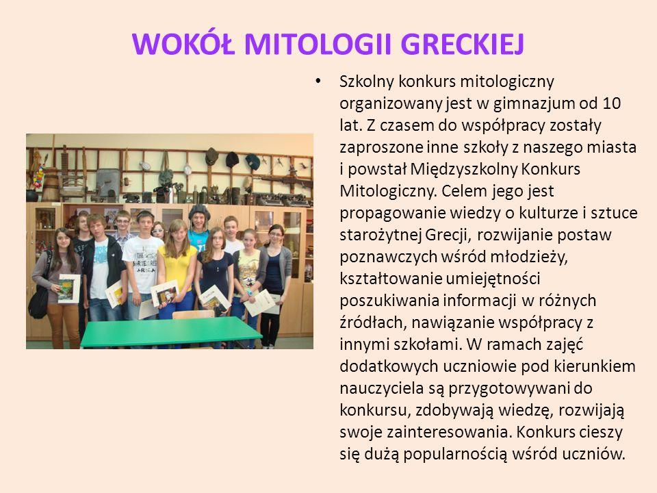 WOKÓŁ MITOLOGII GRECKIEJ