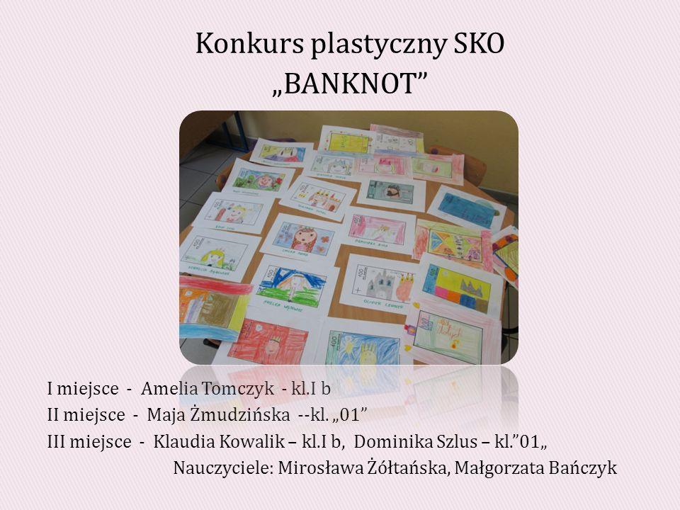 """Konkurs plastyczny SKO """"BANKNOT"""