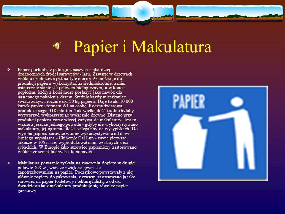 Papier i Makulatura