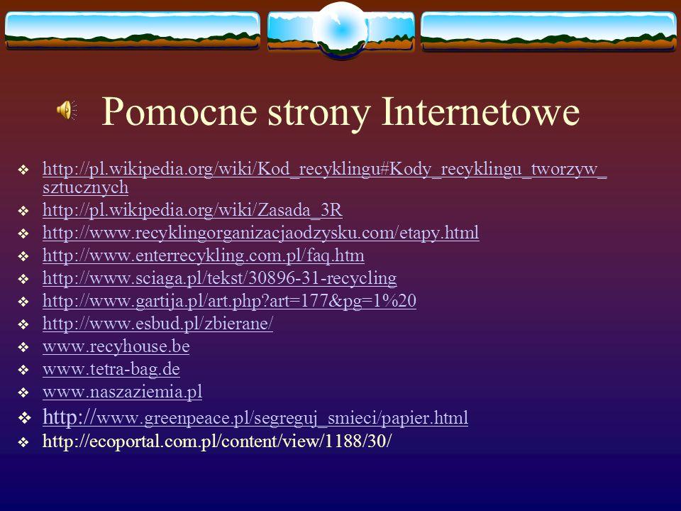 Pomocne strony Internetowe