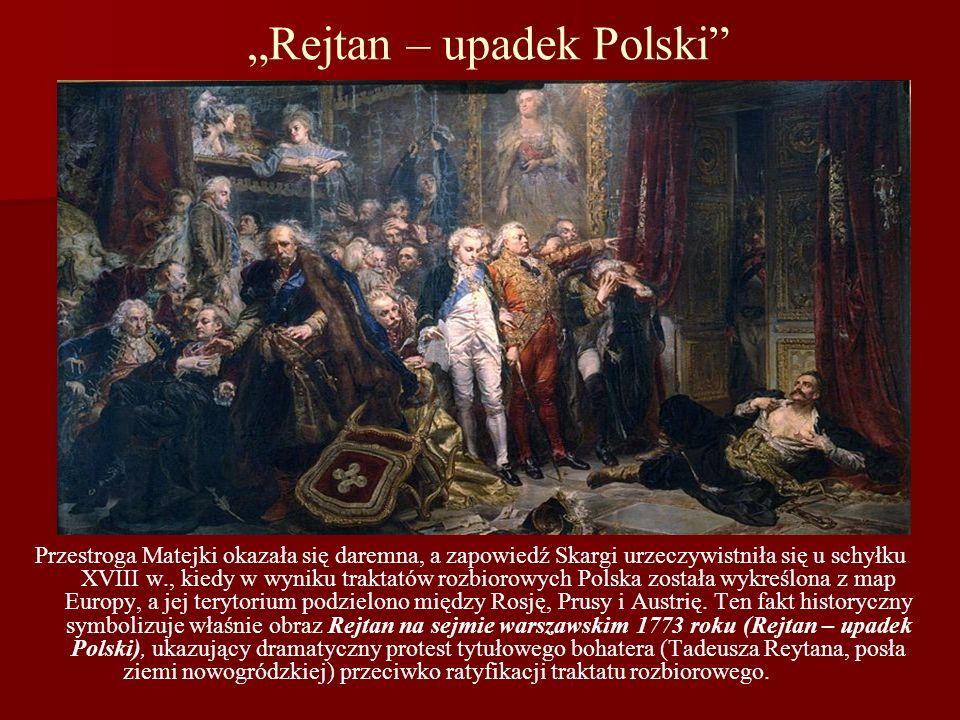 """""""Rejtan – upadek Polski"""