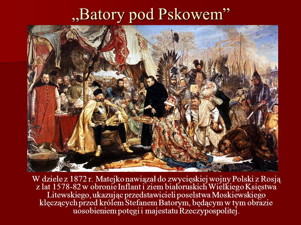 """Batory pod Pskowem"