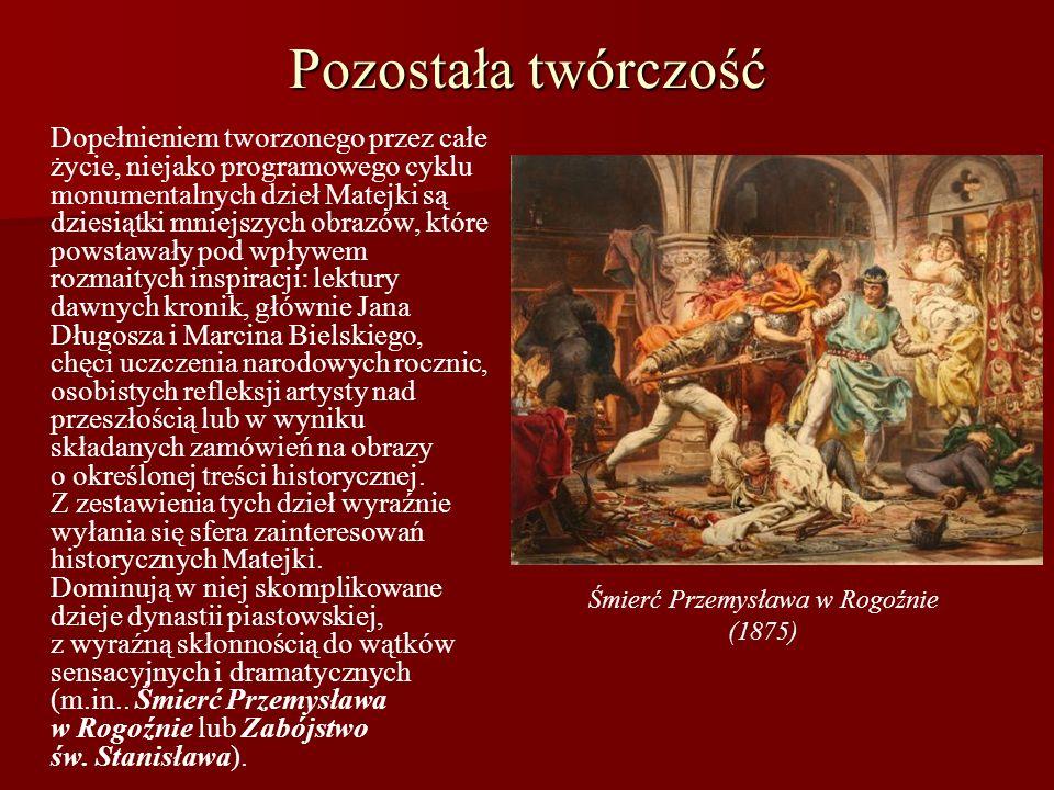 Śmierć Przemysława w Rogoźnie (1875)
