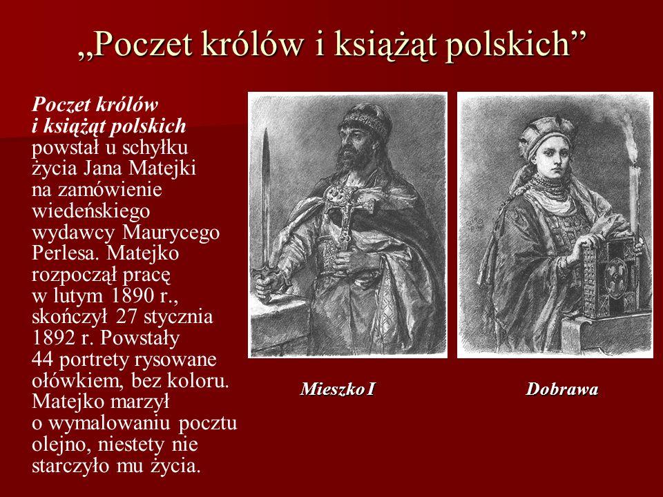 """""""Poczet królów i książąt polskich"""