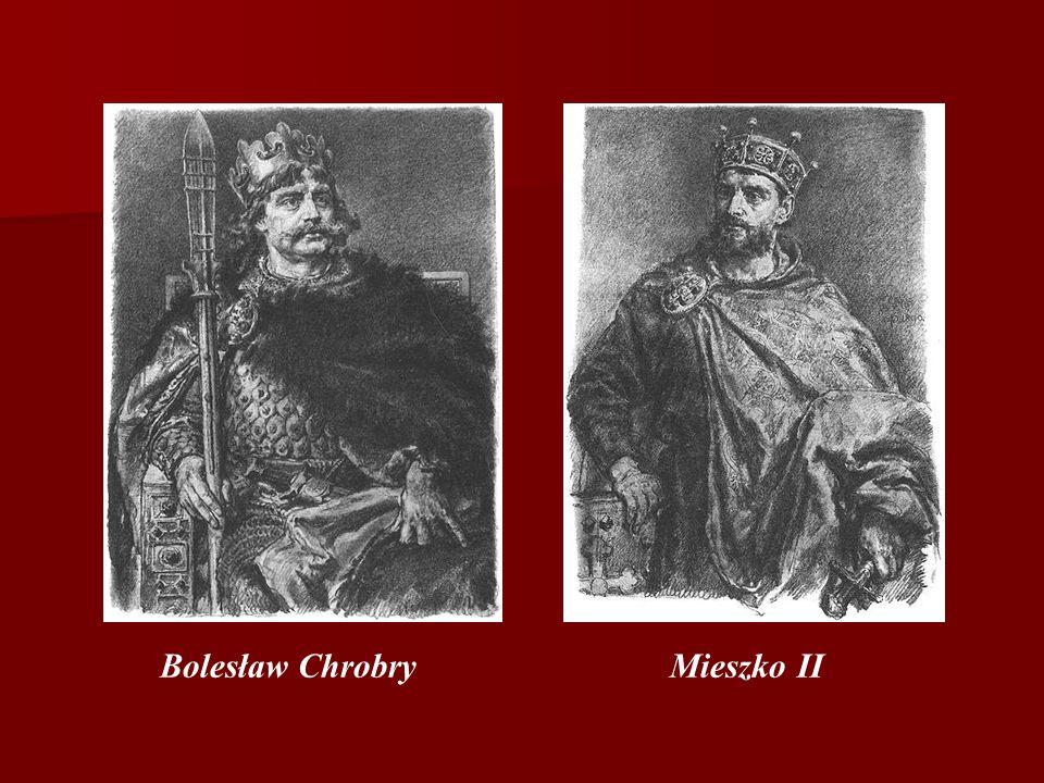 Bolesław Chrobry Mieszko II