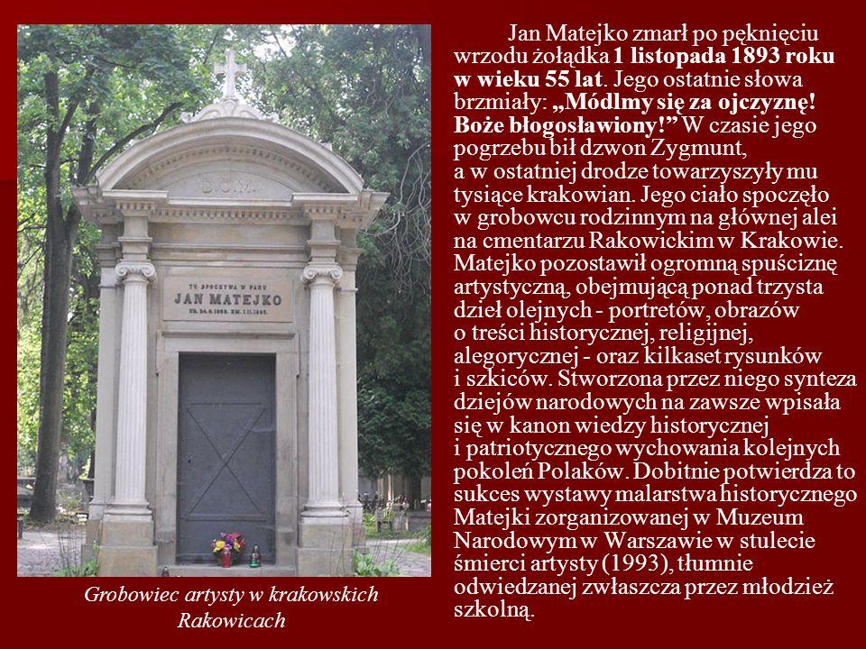 Grobowiec artysty w krakowskich Rakowicach