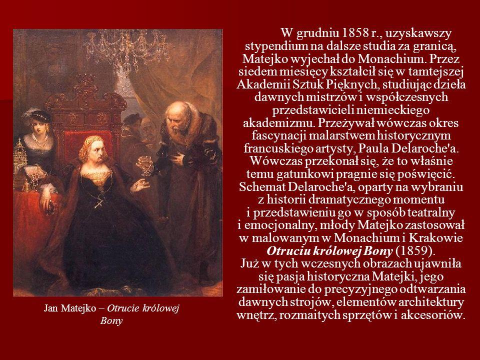 Jan Matejko – Otrucie królowej Bony