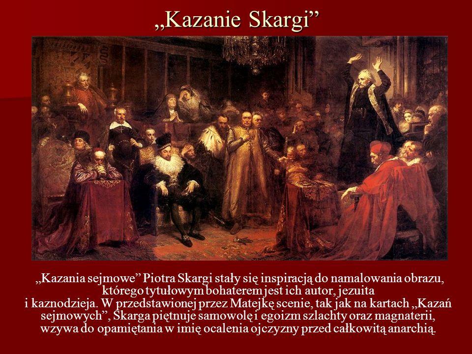 """""""Kazanie Skargi"""