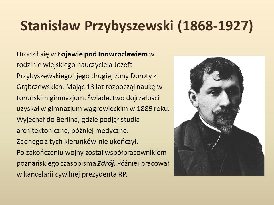 Stanisław Przybyszewski (1868-1927)