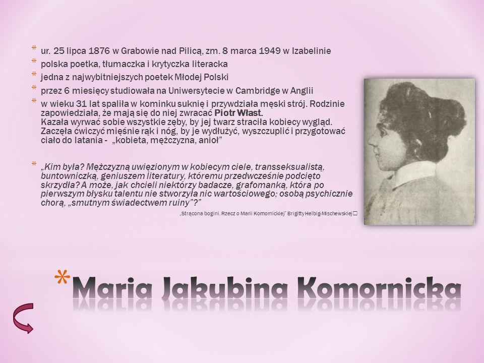 Maria Jakubina Komornicka