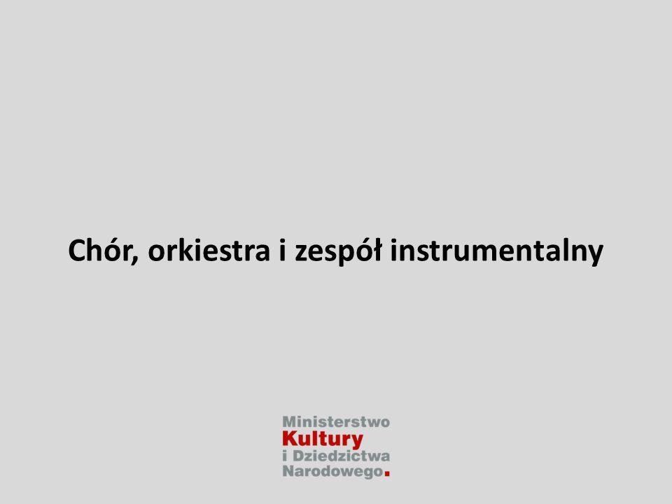 Chór, orkiestra i zespół instrumentalny