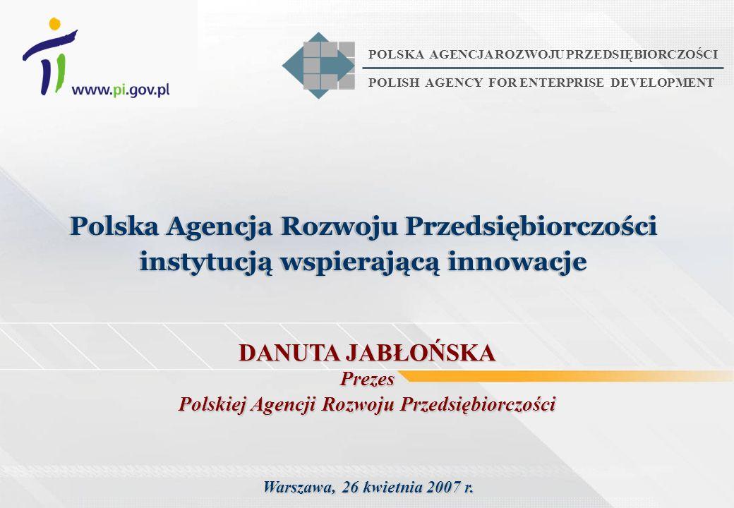 Polska Agencja Rozwoju Przedsiębiorczości