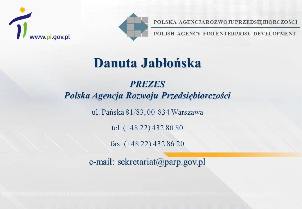 PREZES Polska Agencja Rozwoju Przedsiębiorczości
