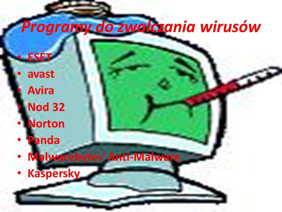 Programy do zwalczania wirusów