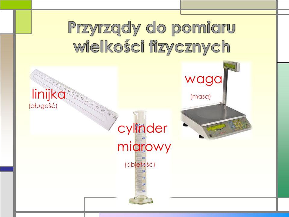 Przyrządy do pomiaru wielkości fizycznych