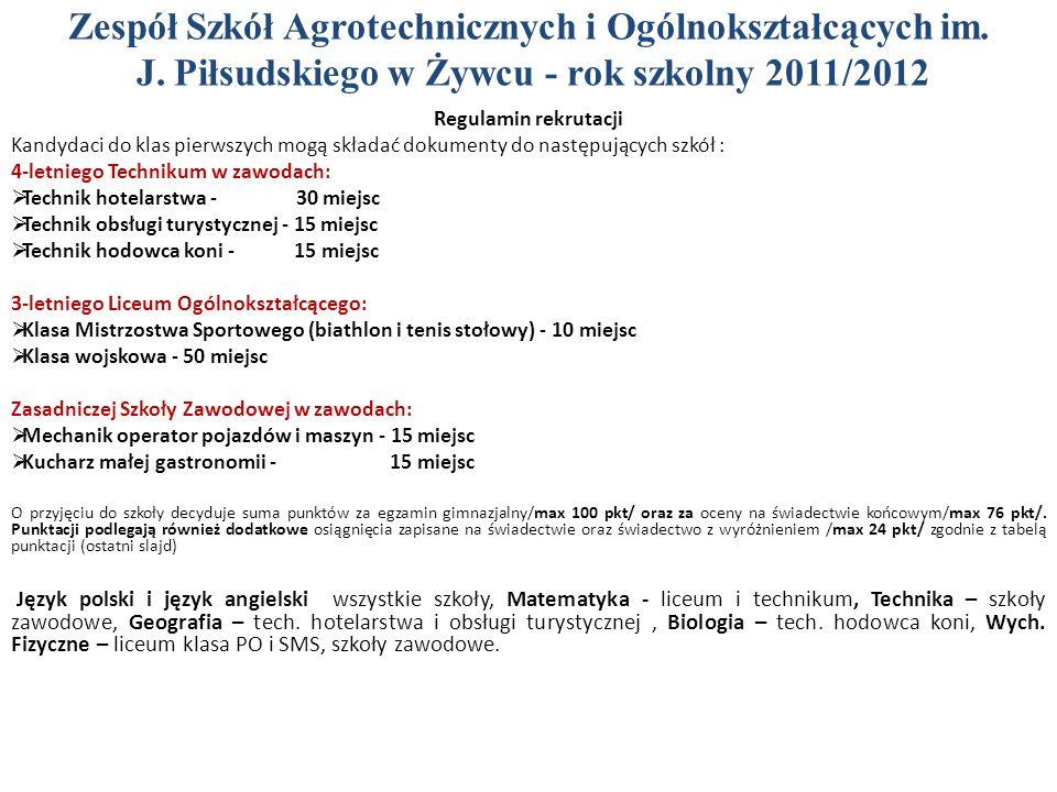 Zespół Szkół Agrotechnicznych i Ogólnokształcących im. J
