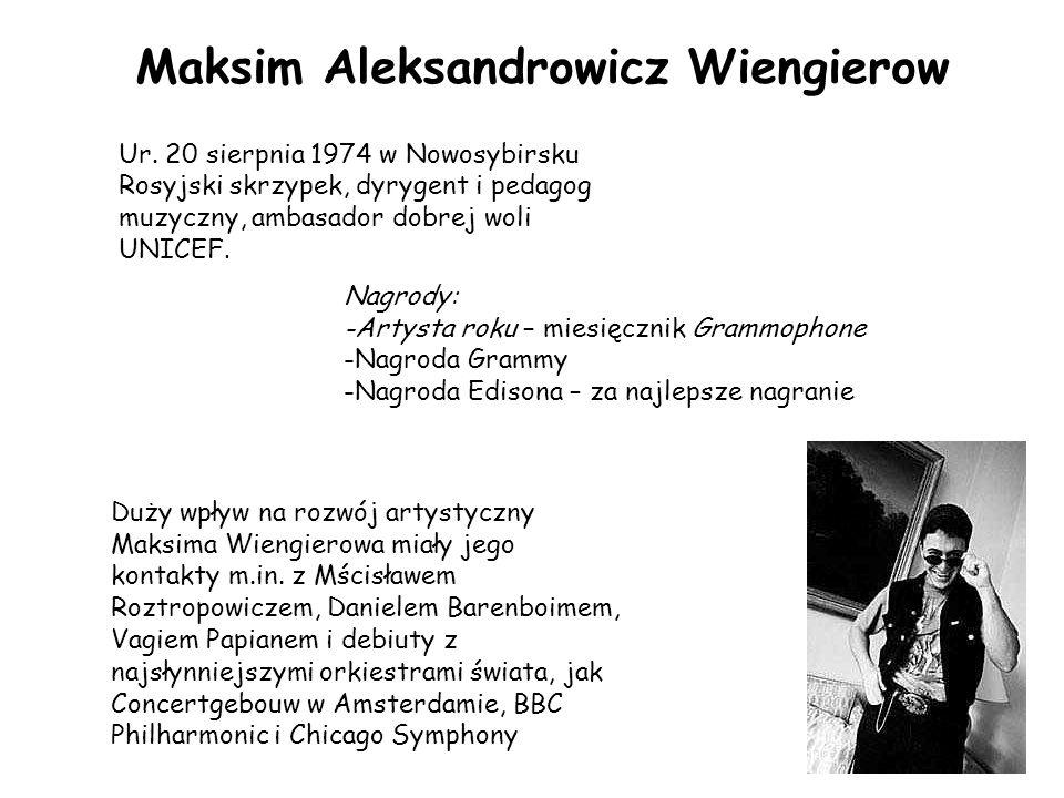 Maksim Aleksandrowicz Wiengierow